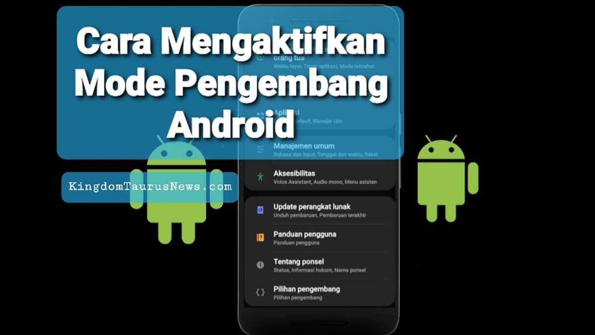 Cara Mengaktifkan Mode Pengembang Android Di Semua Smartphone Berita Teknologi Usb Teknologi Gadget