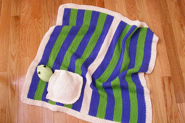 Ravelry: Sheldon Baby Blanket pattern by Martina Niebur