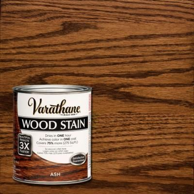 Varathane 1 Qt Ash Premium Fast Dry Interior Wood Stain 2 Pack 271151 The Home Depot Staining Wood Interior Wood Stain Cherry Wood Stain