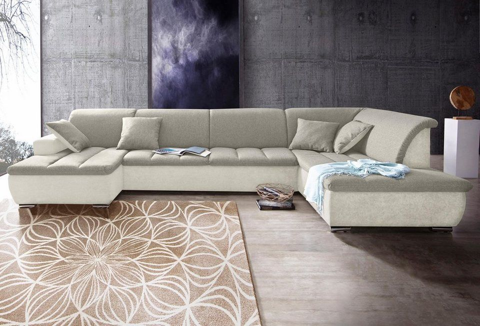 Inosign Wohnlandschaft Im Modernen Materialmix Another Test Wohnlandschaft Wohnen Sofa Wohnlandschaft