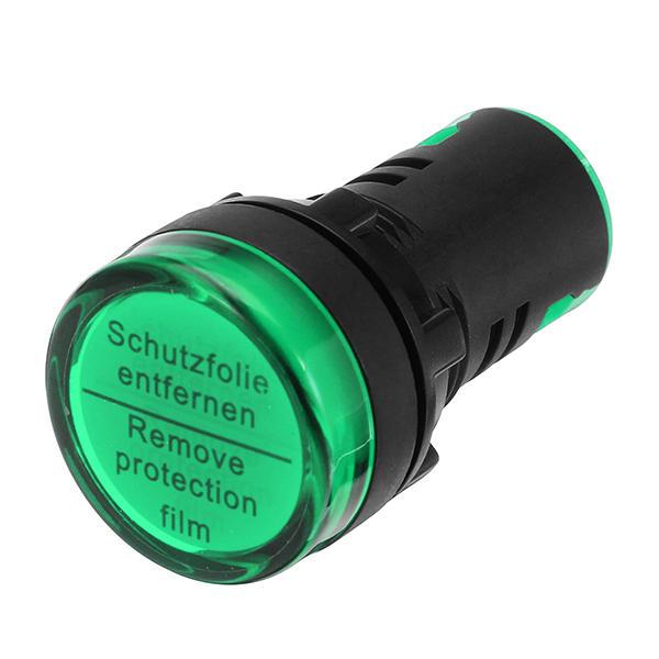 Us 3 80 Machifit Ac220v 22mm Indicator Lamp Signal Light Lamp Led Power Indicator Green Mechanical Parts From Tools Industrial Scientific On Banggood Com Lamp Light Led Led Lamp
