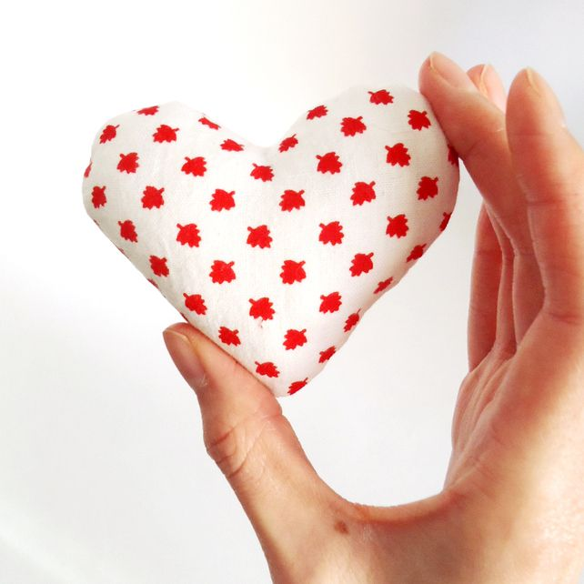 Little Heart Pincushion  £3.00 by Chi Chi Dee Handmade