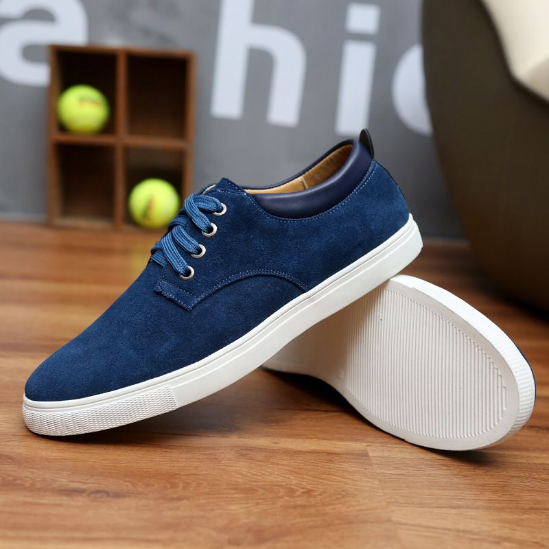 Fashion White Breathable Flat Shoes Lace-up Women Casual Sports Skateboarding Shoes ( Color : Blue  Size : 39 )