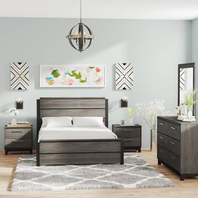 Mandy Platform 5 Piece Bedroom Set 5 Piece Bedroom Set Bedroom Furniture Sets Bedroom Sets