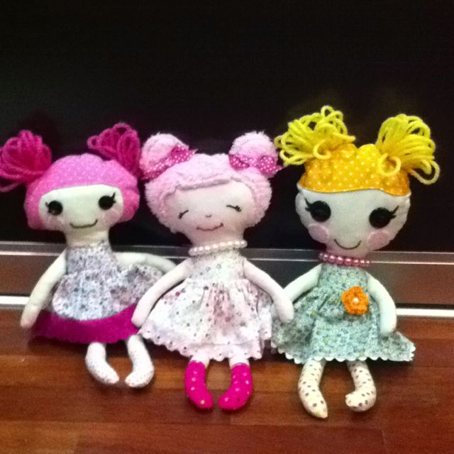 Pin by San Leong on Toys n Softies   Lalaloopsy party ...