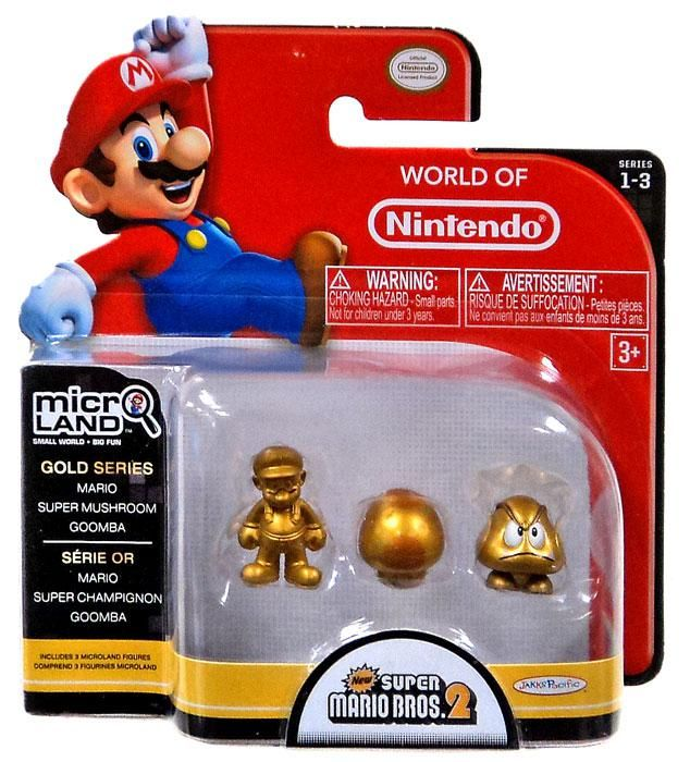 Characters Collection 3 Goomba 4 Figure Super Mario Brothers
