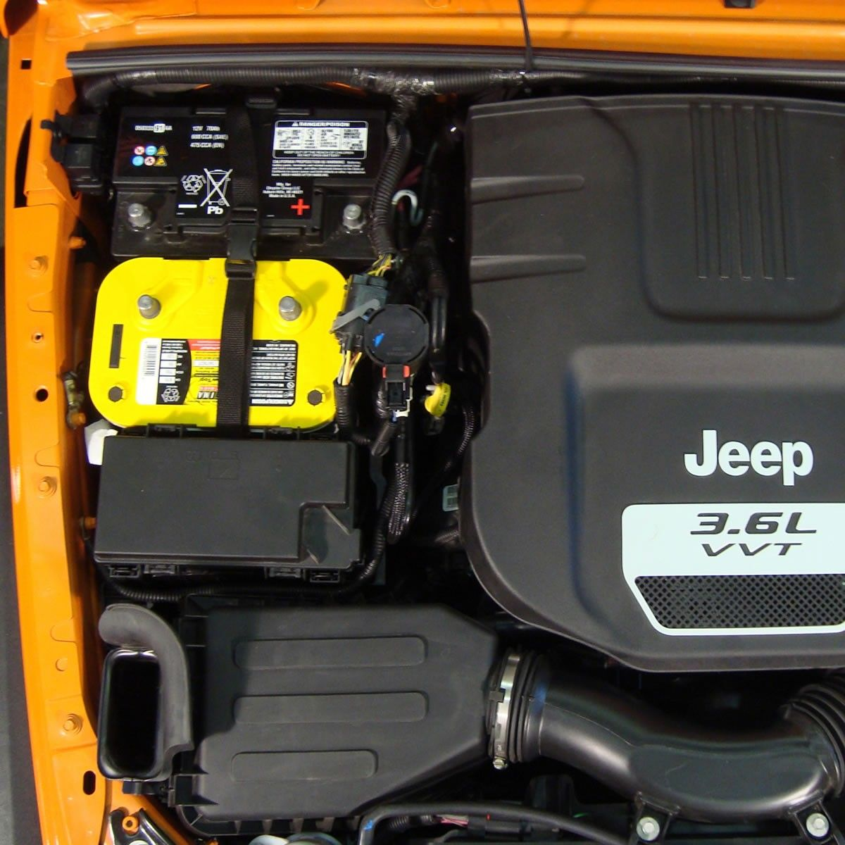 MORE Dual Battery Tray, Jeep Wrangler JK 2012-2016