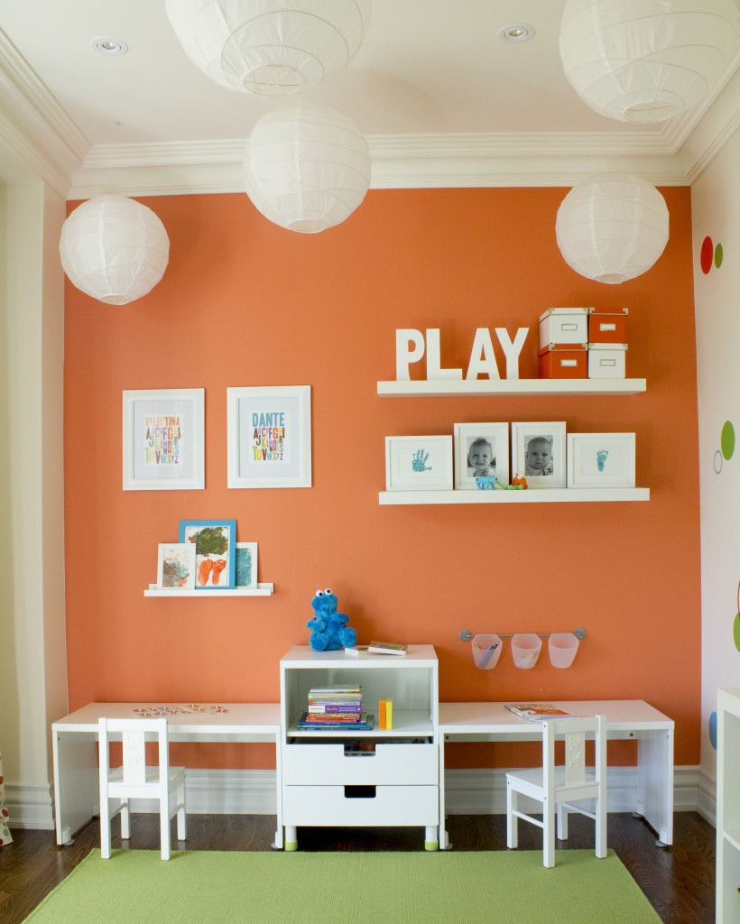 Curtains For Childs Bedroom Modern Bedroom Colour Ideas Kids Bedroom Cupboards Bedroom Pop Design: Colourful Polkadot Playroom