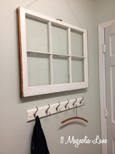 Tutorial How To Hang A Vintage Window For Wall Display