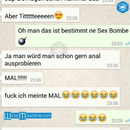 whatsapp sex gruppe ich mag anal