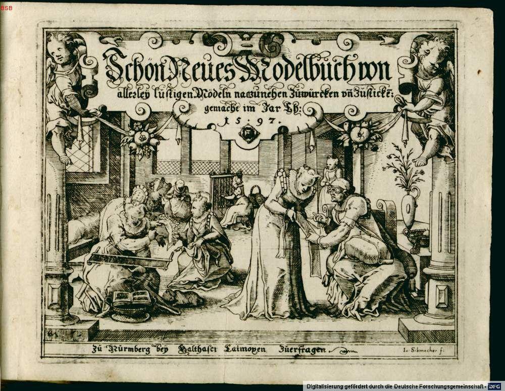 German renaissance pattern book(only JUST still in period.) | SCA ...
