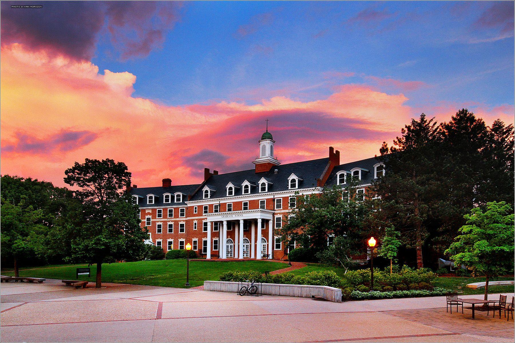 Graduate Life Center at Donaldson Brown. Virginia Tech