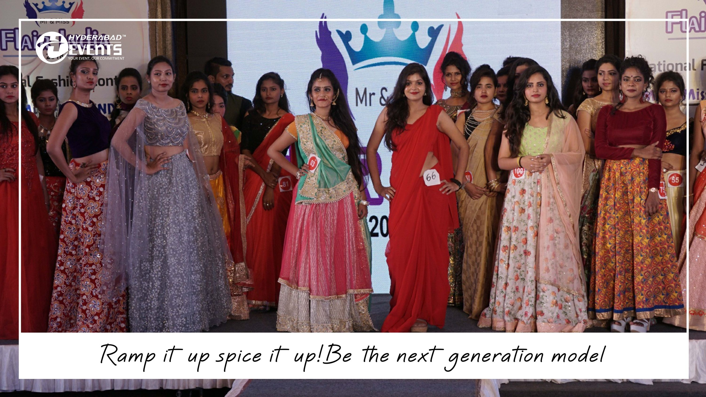Hyderabad Events Has Many Laurels Attached To Its Name In Organizing Fashion Events Trust Us And Lets Us Handl Fashion Organization Fashion Event Next Fashion