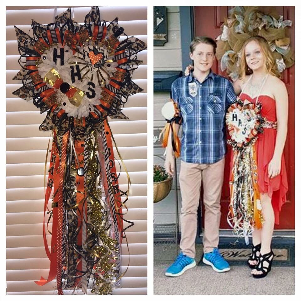 Haltom High School Homecoming Mum 125 Please Inbox Me For Orders