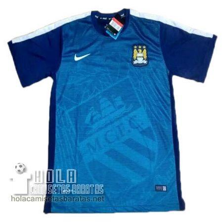 Camiseta Pre Match Azul Manchester City 2015-16  €20.9