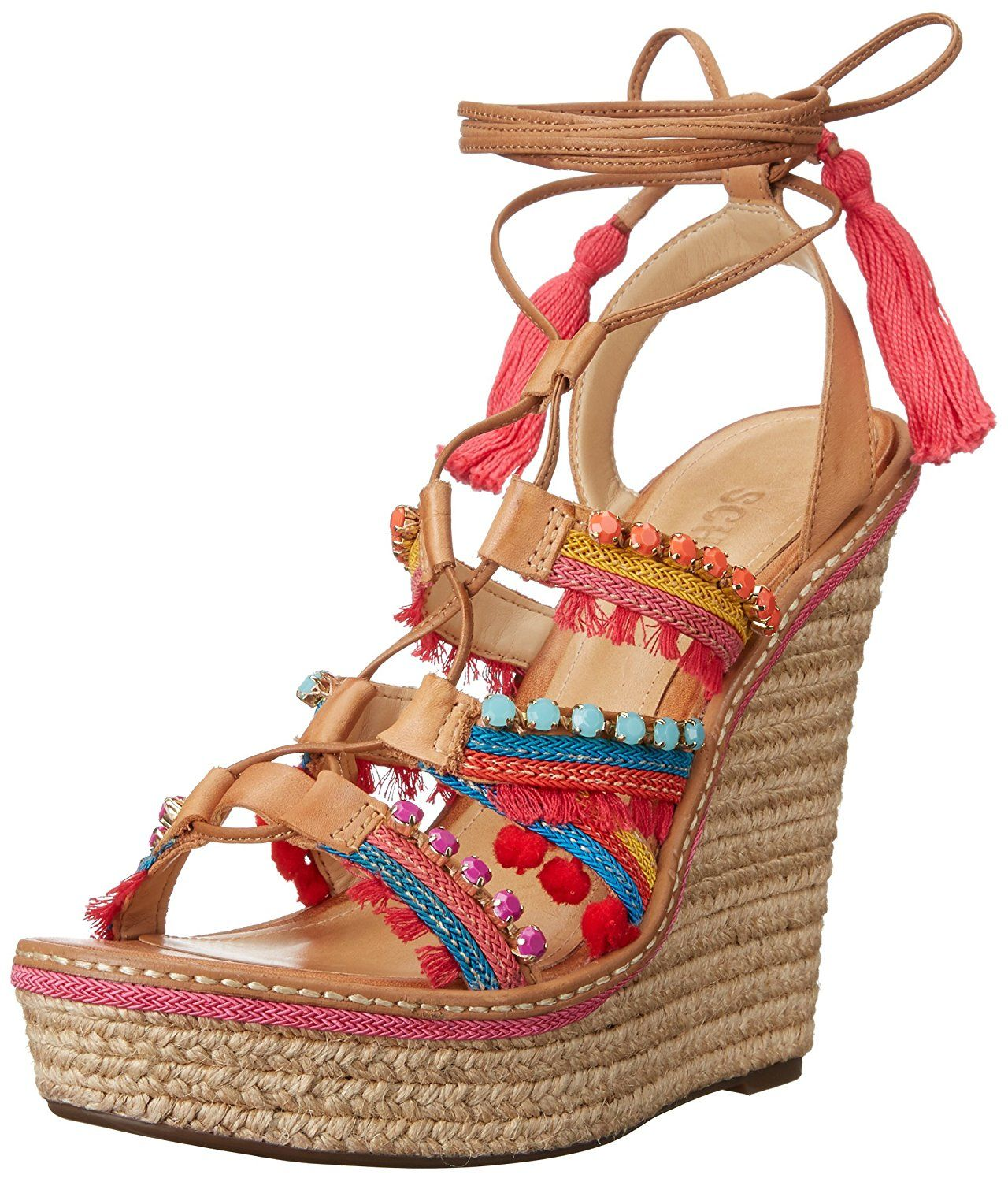 c7012be46372fd Schutz Women s Mella Espadrille Wedge Sandal -- Insider s special review  you can t miss. Read more   Wedge sandals