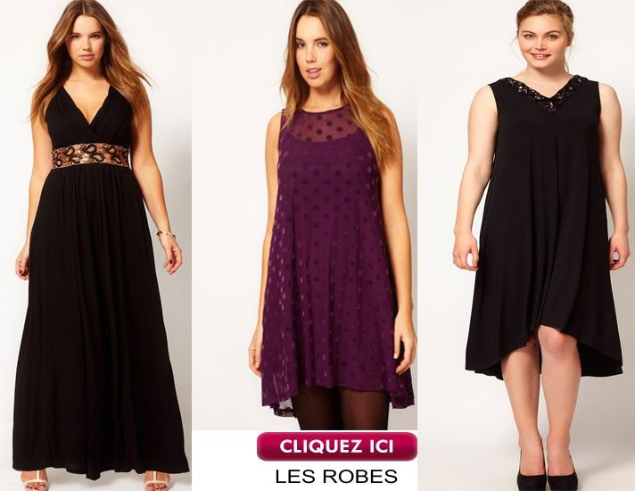 Robe soiree fille ronde