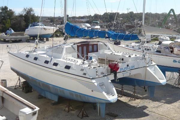 1990 Jeantot Privilege 39, Pensacola Florida - boats.com | Catamaran for  sale, Catamaran, Boat