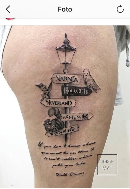 Uploaded by Andie. Find images and videos about tattoo, narnia and hogwarts on We Heart It - the app to get lost in what you love.