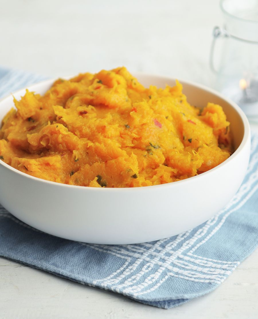Butternut squash sage and crme frache mash recipe easy light bbc food forumfinder