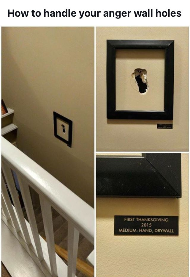 If you can't fix 'em - frame 'em! Or cover it up with a wall decal....
