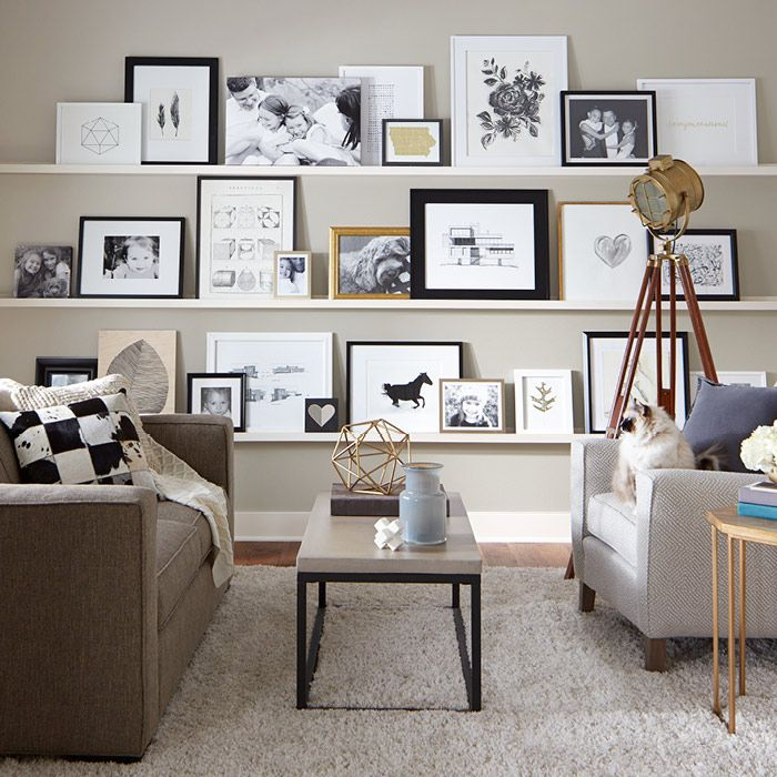 Tips For Arranging Art Decor Gallery Shelves Interior