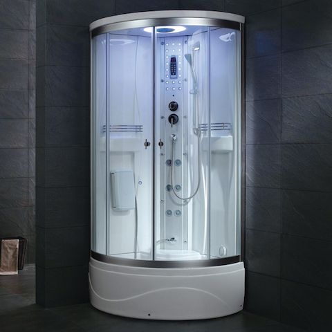 Great Corner Steam Shower Unit For Small Bathrooms Www