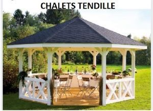 Abri de jardin tonnelle gloriette | kiosque de jardin | Pergola ...