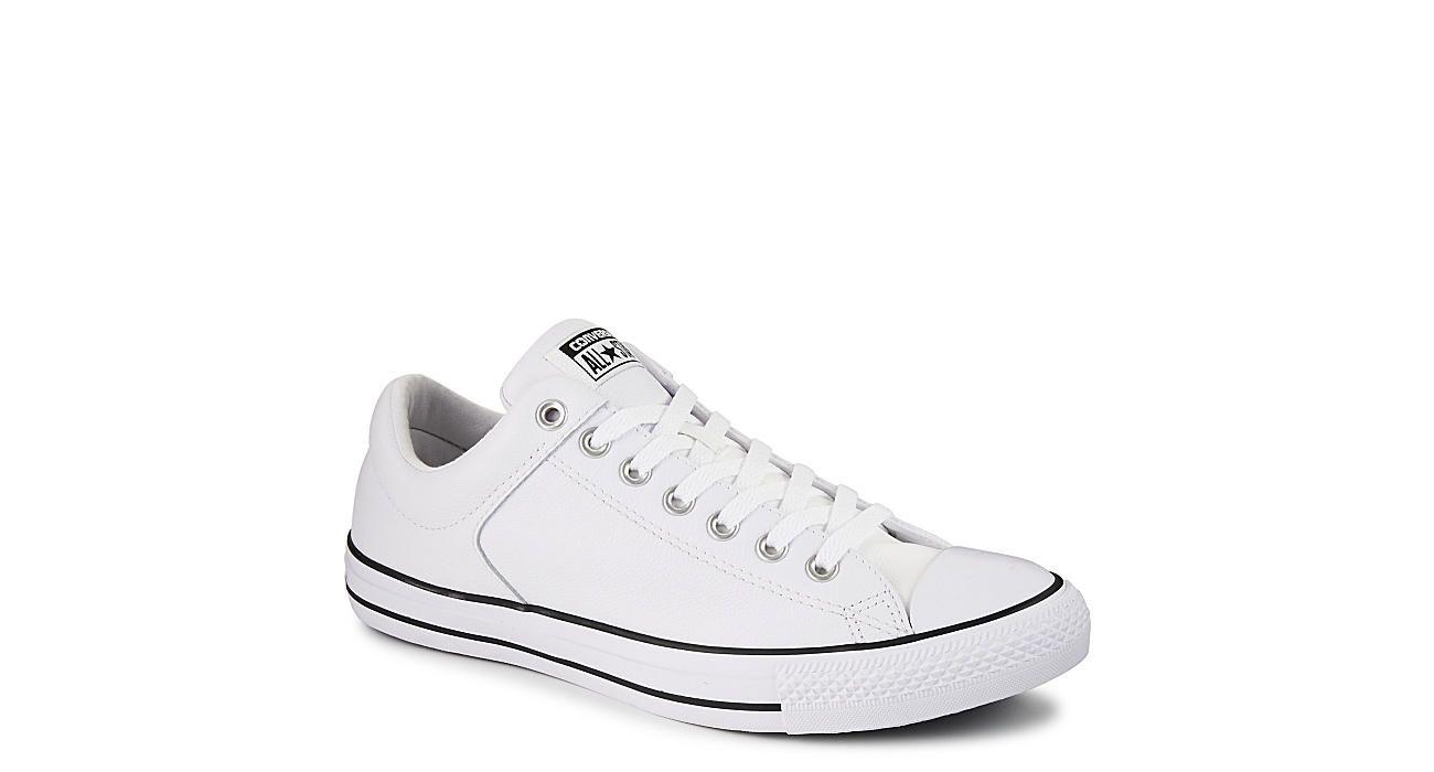 White Converse Mens Chuck Taylor High