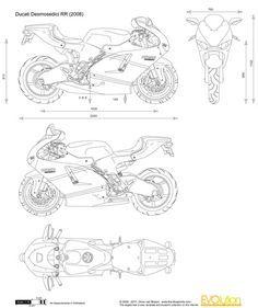 Ducati Panigale Blueprint