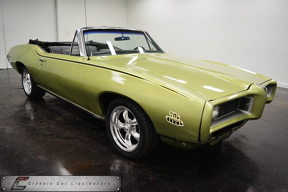 1968 Pontiac Le Mans Convertible - Classic Car Liquidators | awesome ...