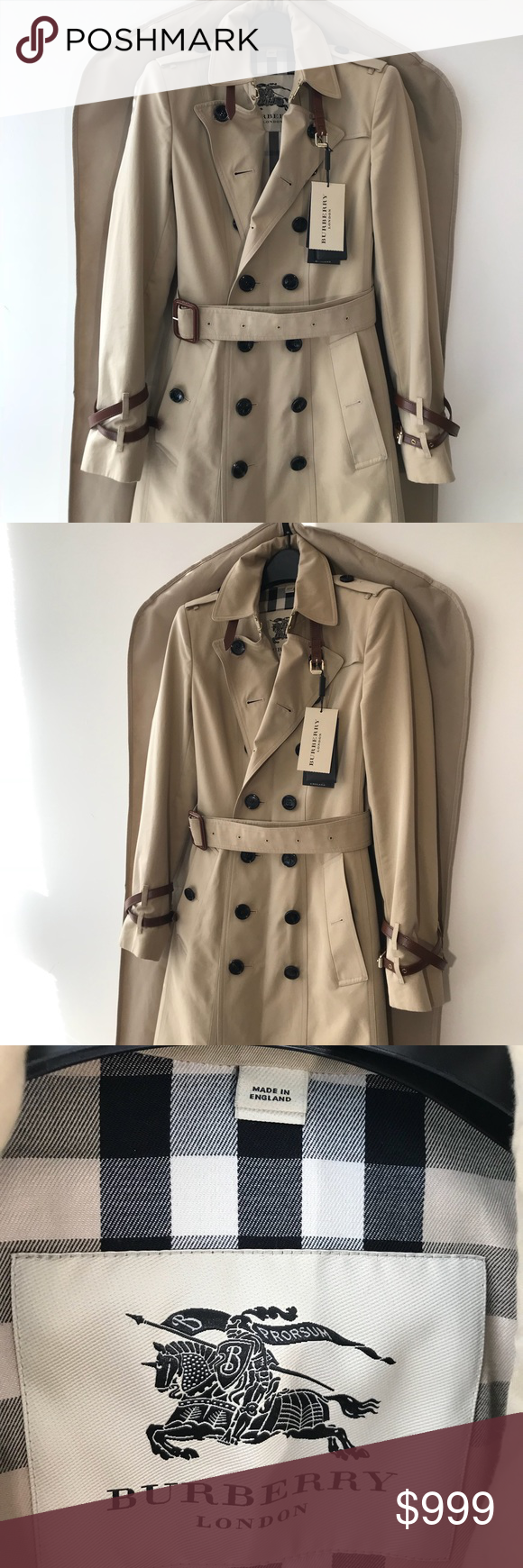 Burberry Trench Coat Used 2 Times Like New Burberry Jackets Coats Trench Coats Trench Coat Burberry Trench Coat Burberry Trench