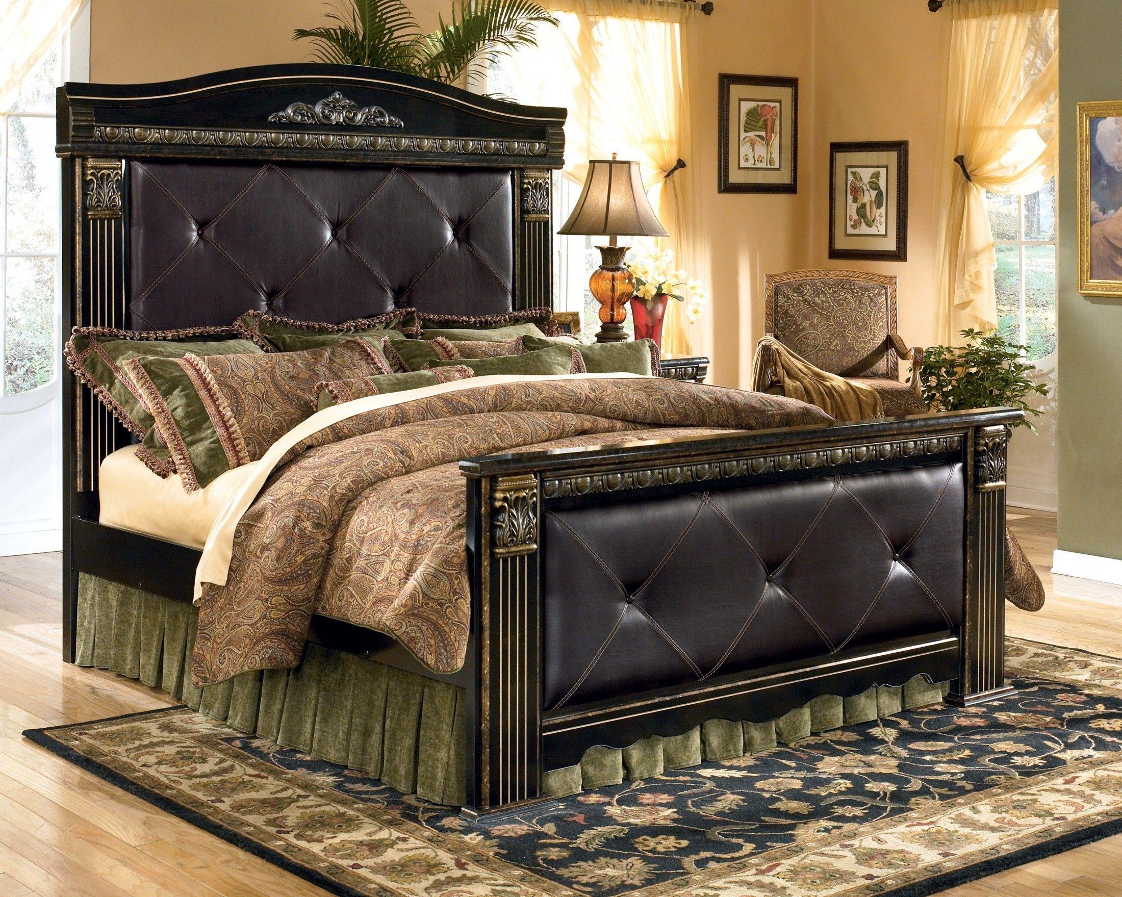 Coal Creek King Mansion Bed Mansion Bedroom Luxury Bedding Bedroom Sets