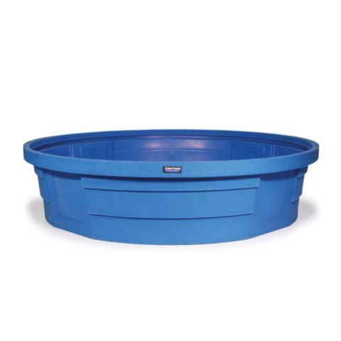 American farmland round plastic tank 8 ft x 2 ft for Plastik pool rund