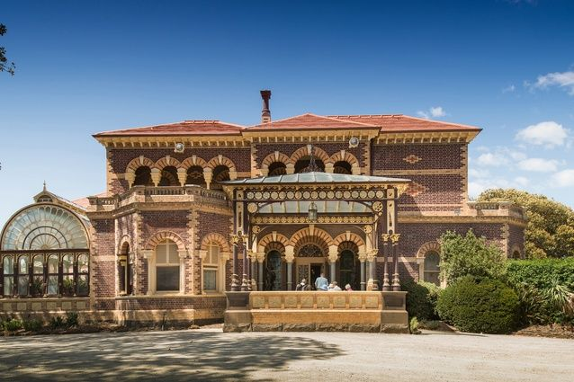 Rippon Lea Roof Reinstatement by Lovell Chen Architects & Heritage Consultants.