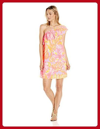 Lilly Pulitzer Women's Emmeline Dress Sun Splashed, Multi Sun Splashed, L - All about women (*Amazon Partner-Link)