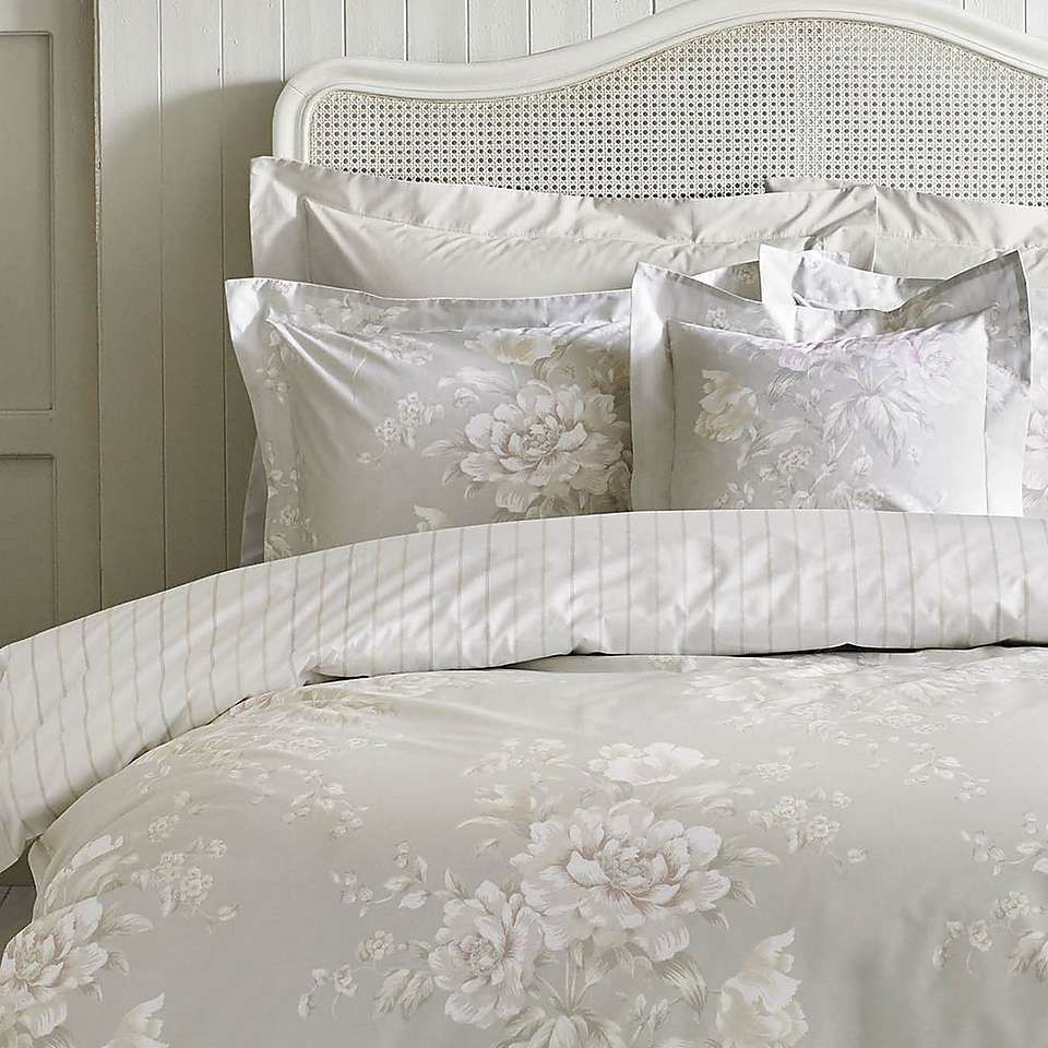 Holly Willoughby Emmy Sage 100 Cotton Reversible Duvet Cover