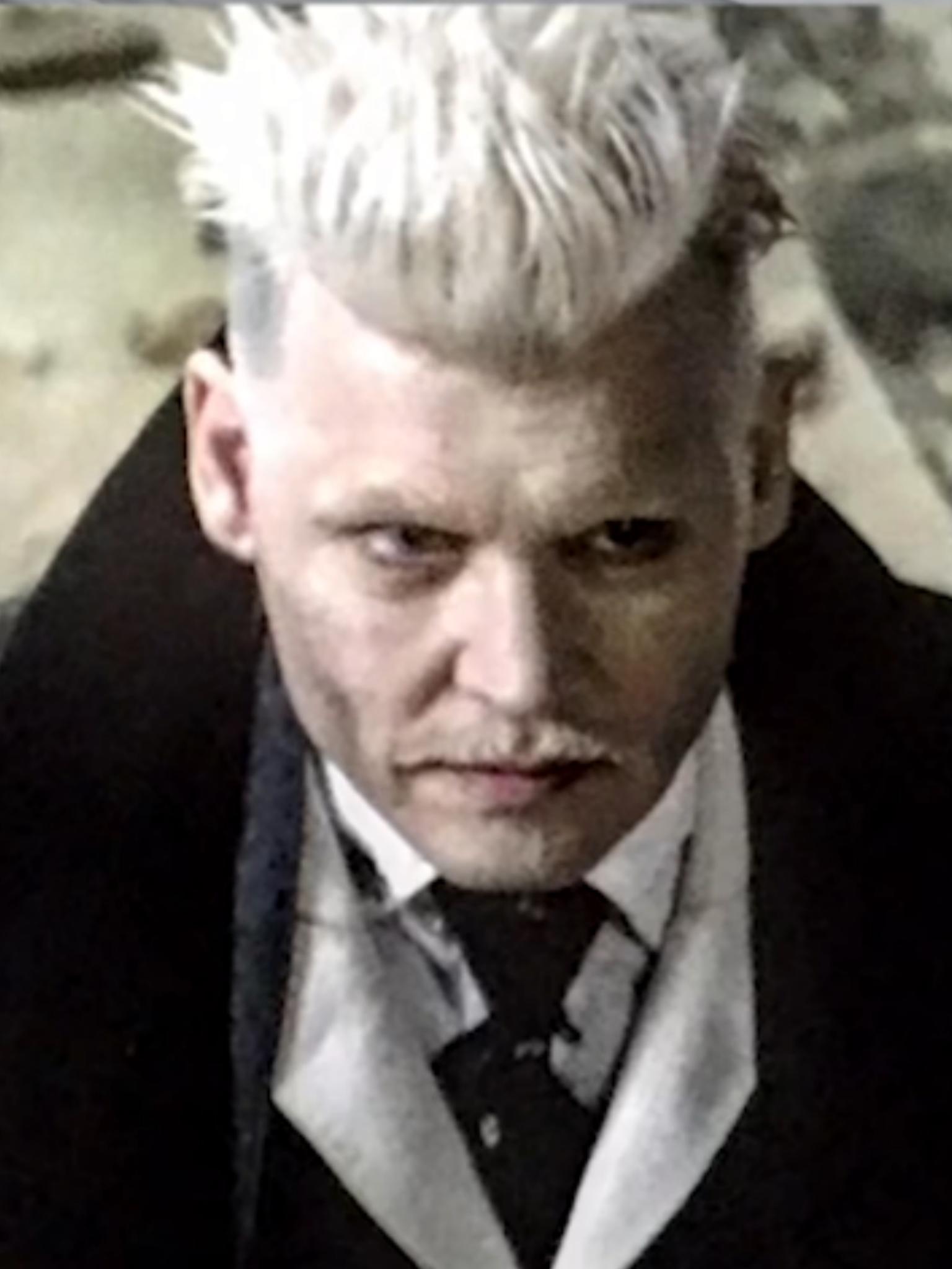 Johnny Depp As Gellert Grindelwald Harry Potter Fantastic Beasts Fantastic Beasts Fantastic Beasts And Where