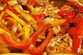 """""""Point-less"""" Meals: Roast Chicken with Balsamic Bell Peppers"""