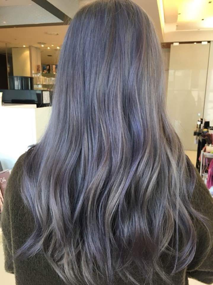 Korea Korean Kpop Idol Actress 2017 Hair Color Trend For Winter Fall Hairstyles For Girls Kpopstuff Korean Hair Color Lilac Hair Kpop Hair Color