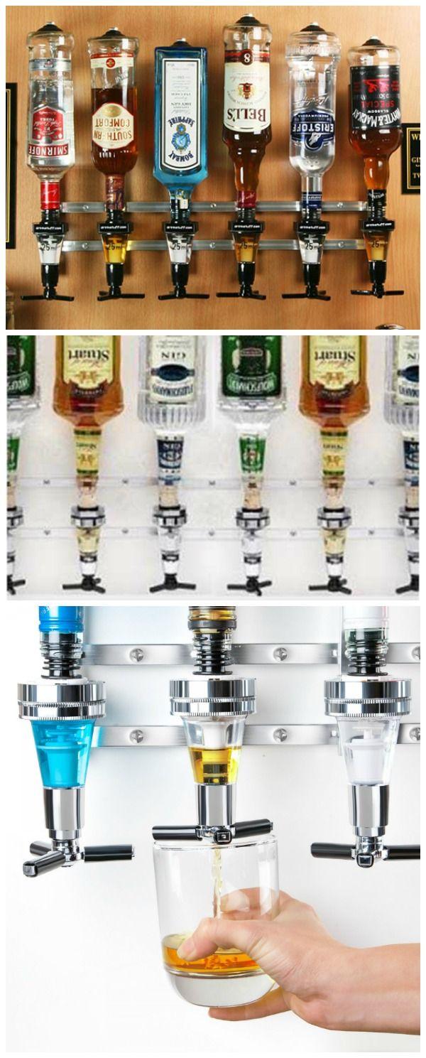 Rack and Pour Liquor Dispenser | GetdatGadget | Liquor