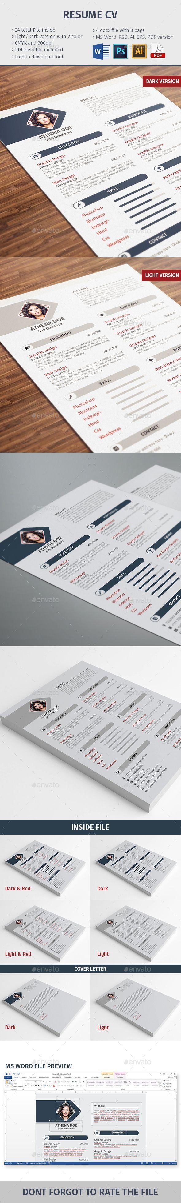 Resume CV | Pinterest | Modelo cv y Modelo