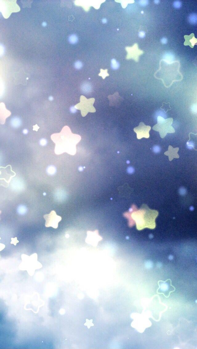 Fond d'écran Étoiles | Fond d'écran étoile, Fond écran bleu, Fond ecran
