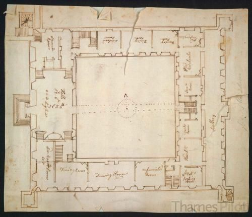 Plan Of The Interior Of Syon House Architecture Plan House Floor Plans