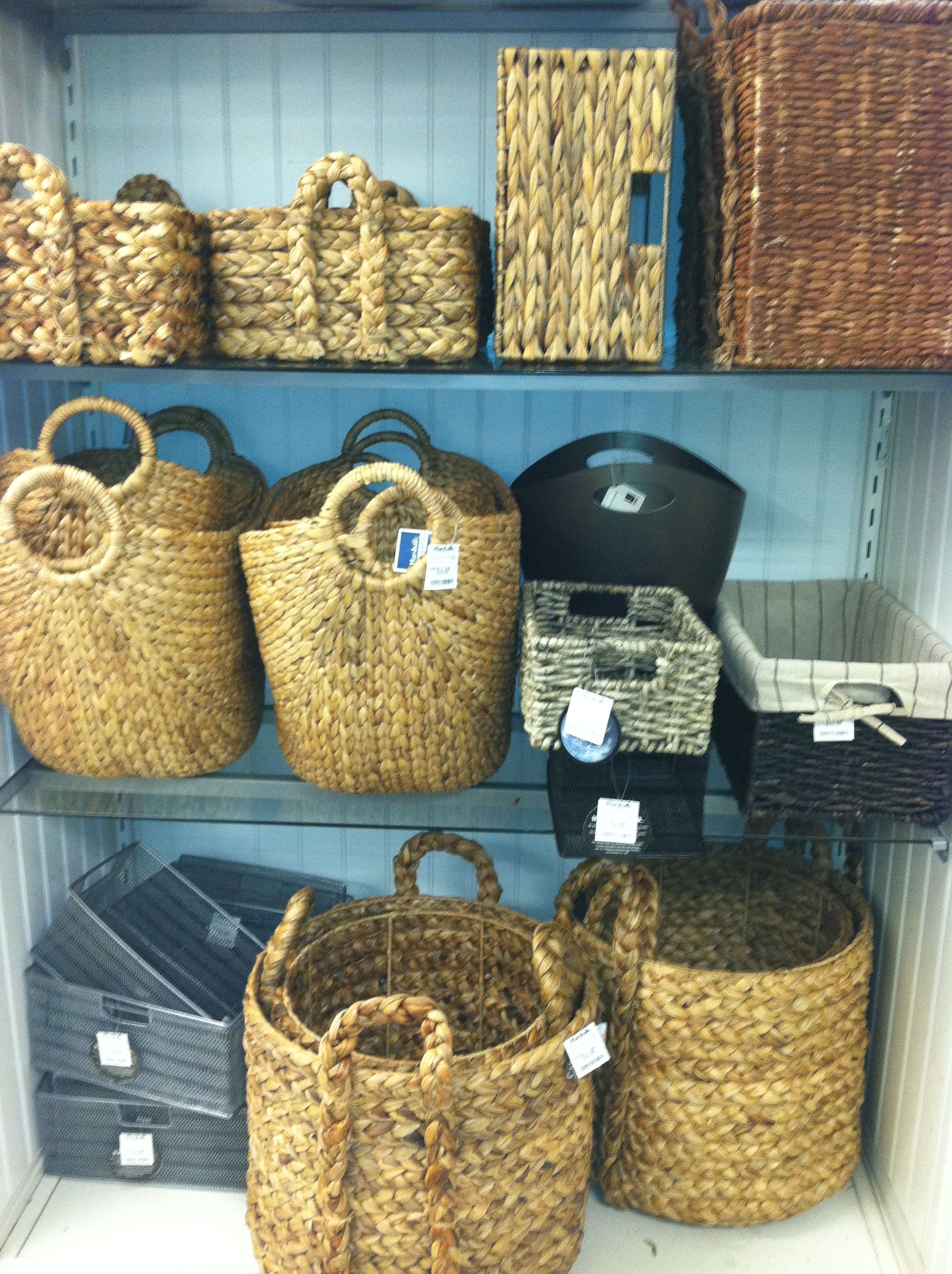 Storage baskets spotted at Marshalls in NYC | Bedroom Storage ...