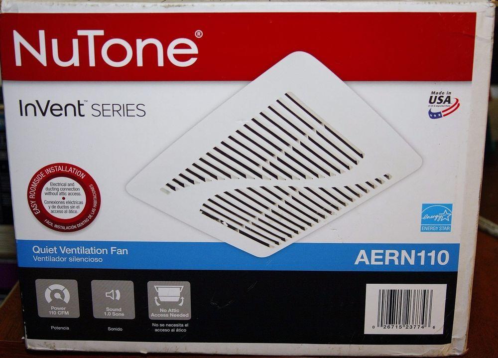 Nutone Invent Series 110 Cfm Ceiling Exhaust Bath Fan Energy Star Nutone Fans For Sale Ceiling Installation Bath Fan