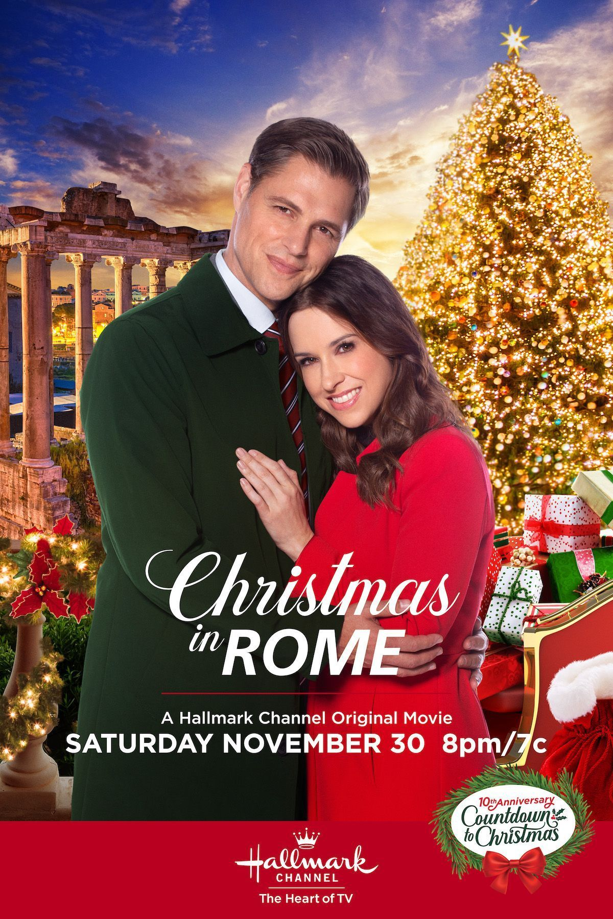 Spend Christmas In Rome With Lacey Chabert And Sam Page On
