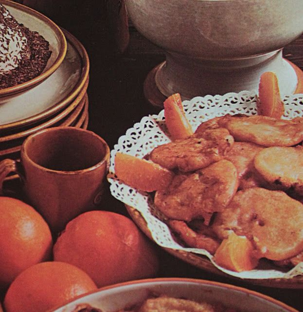 Goloso Vintage: Frittelle di Arance