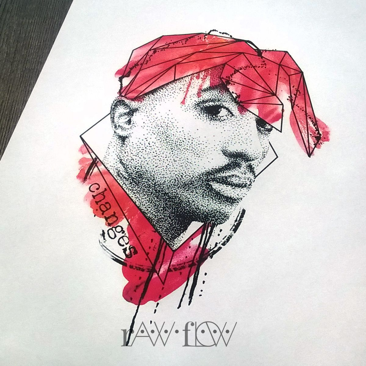 2pac tupac tattoo changes watercolor dotwork geometric summer 2pac tupac tattoo changes watercolor dotwork geometric nvjuhfo Images