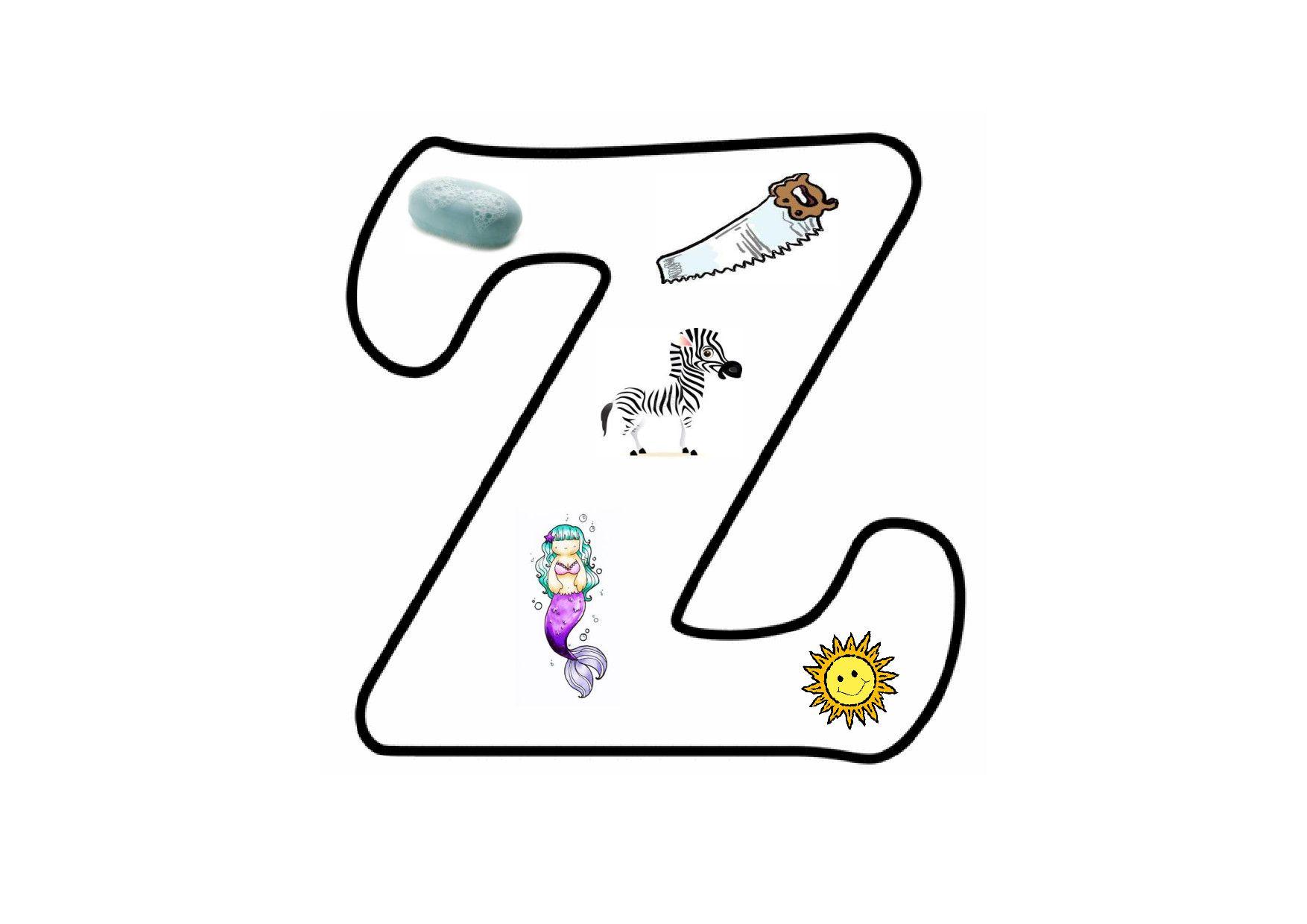 how to teach letter z